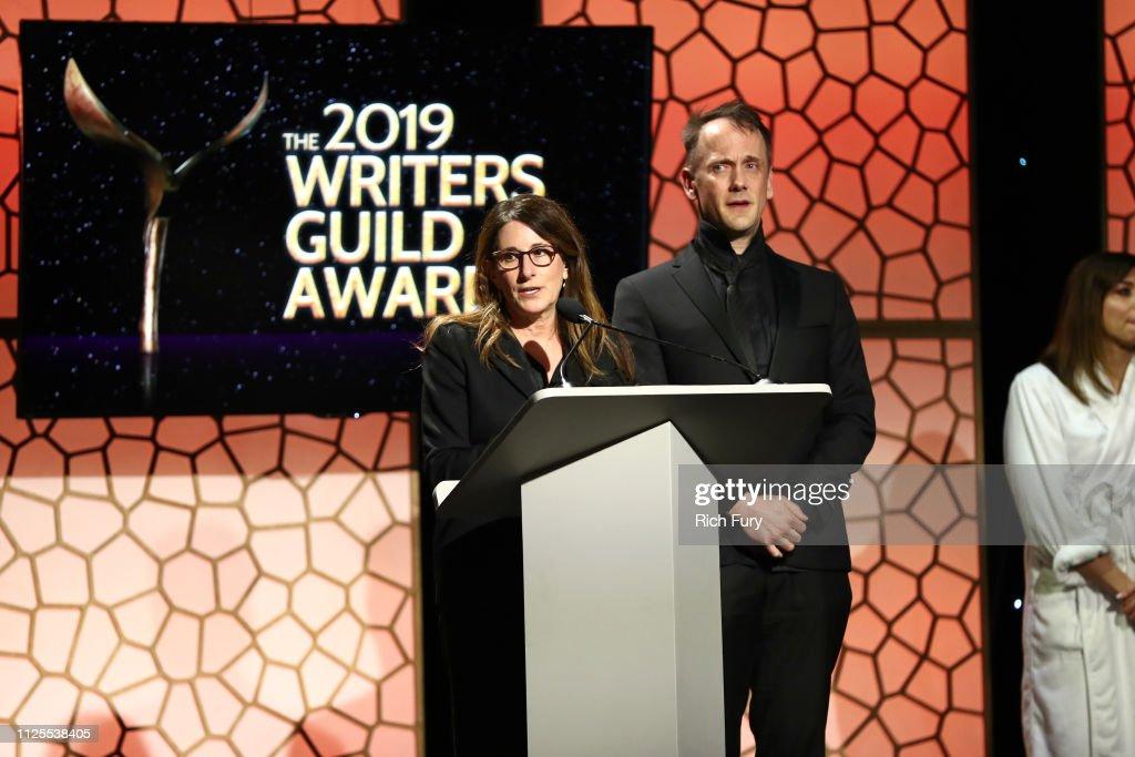 2019 Writers Guild Awards L.A. Ceremony - Inside : News Photo