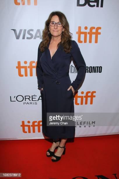 Nicole Holofcener attends the The Land Of Steady Habits premiere during 2018 Toronto International Film Festival at Roy Thomson Hall on September 12...
