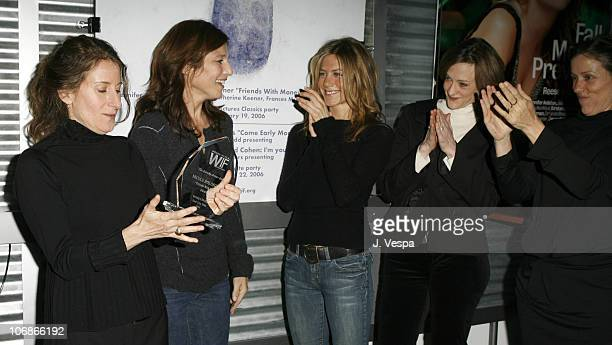 Nicole Holofcener director of Friends with Money Catherine Keener Jennifer Aniston Joan Cusack and Frances McDormand