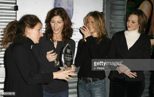 Nicole Holofcener director of Friends with Money Catherine Keener Jennifer Aniston and Joan Cusack