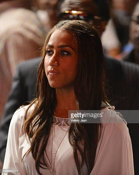 Nicole 'Hoopz' Alexander attends boyfriend Shaquille O'Neal graduation Shaq receives doctoral degree in education from Barry University at James L...