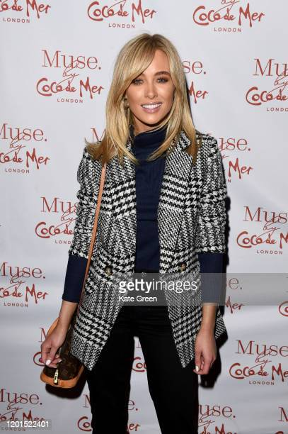 Nicole Hughes attends the Coco De Mer launch event at Sketch on January 23 2020 in London England