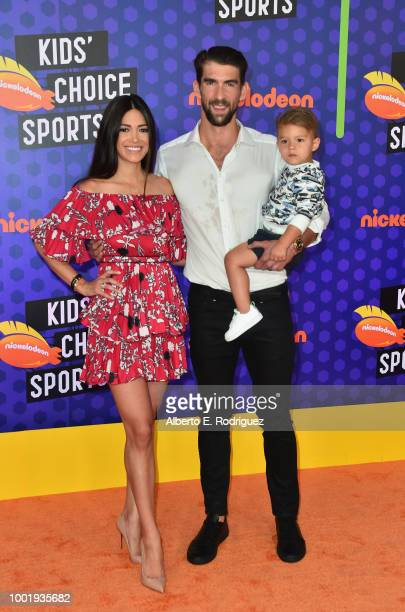 The LA SparKids attend the Nickelodeon Kids' Choice Sports 2018 at Barker Hangar on July 19 2018 in Santa Monica California