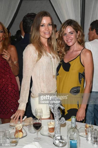 Nicole Kempel and Elisabetta Pellini attend 2017 Ischia Global Film Music Fest on July 12 2017 in Ischia Italy