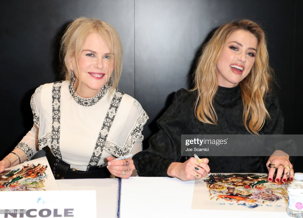 Comic-Con International 2018 - DC Entertainment's Warner Bros. Pictures Autograph Signing