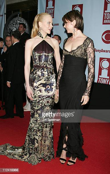 Nicole Kidman and Antonia Kidman during 58th Annual Tony Awards Arrivals at Radio City Music Hall in New York New York United States