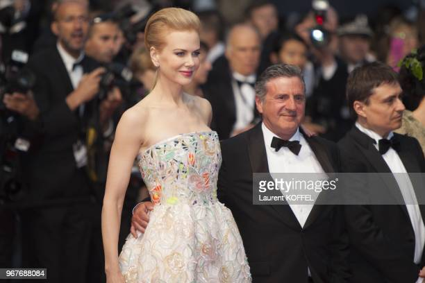 Nicole Kidman and Daniel Auteuil attend Electrolux at Opening Night of The 66th Annual Cannes Film Festival at the Theatre Lumiere on May 15 2013 in...