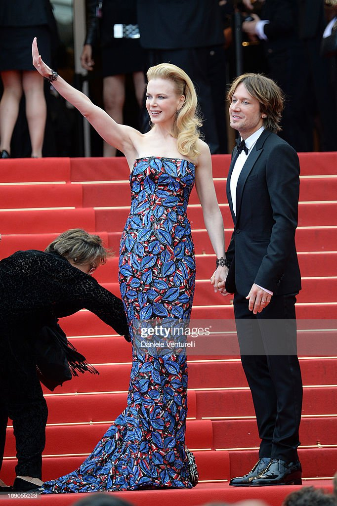 Nicole Kidman and her husband Keith Urban attend the Premiere of 'Inside Llewyn Davis' during the 66th Annual Cannes Film Festival at Palais des Festivals on May 19, 2013 in Cannes, France.