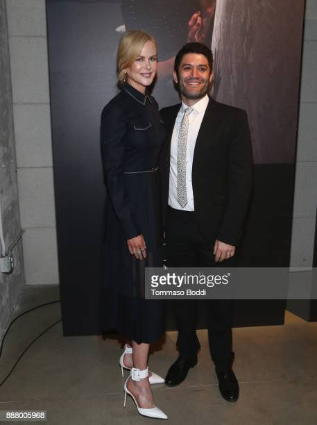 Nicole Kidman and Jake Silverstein at The New York Times Great Performers 2017 on December 7 2017 in Los Angeles California