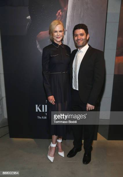 Nicole Kidman and Jake Silverstein at The New York Times Magazine Celebrates The Great Performers Issue 2017 on December 7 2017 in Los Angeles...