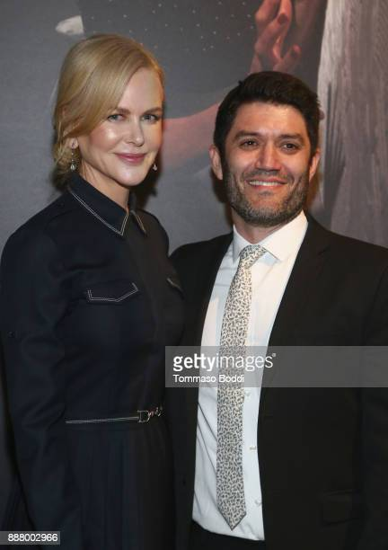 Nicole Kidman and Jake Silverstein at The New York Times Magazine Celebrates 'The Great Performers Issue' 2017 on December 7 2017 in Los Angeles...