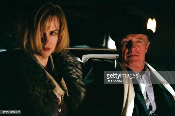 Nicole Kidman and James Caan in Dogville directed by Lars von Trier Sweden 2002
