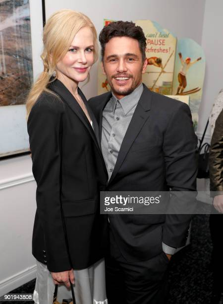 Nicole Kidman and James Franco attend GOLD MEETS GOLDEN The 5th Anniversary Refreshed by CocaCola Globes Weekend Gets Sporty with Nicole Kidman and...