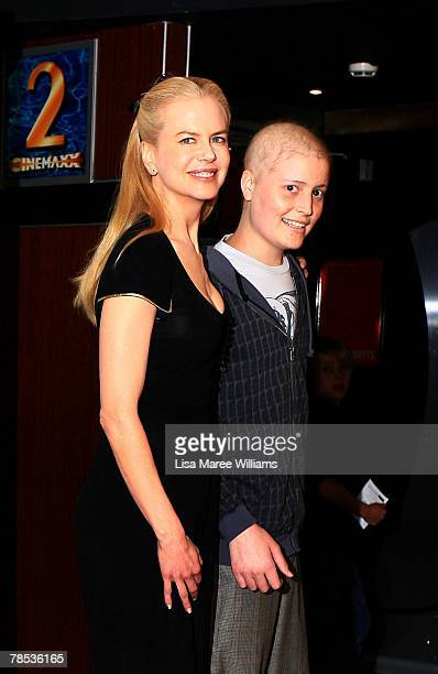 "Nicole Kidman and James McLelland attend a charity screening of ""The Golden Compass"" for the Sydney Children's Hospital at The Entertainment Quarter..."