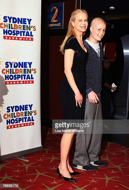 Nicole Kidman and James McLelland attend a charity screening of The Golden Compass for the Sydney Children's Hospital at The Entertainment Quarter on...