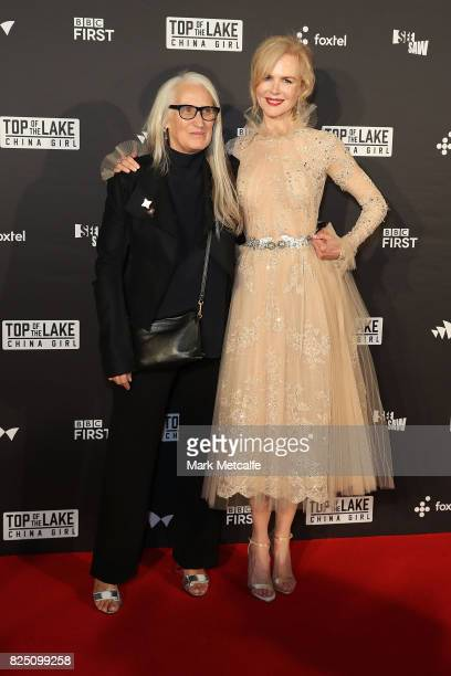 Nicole Kidman and Jane Campion arrive ahead of the Top of the Lake China Girl Australian Premiere at Sydney Opera House on August 1 2017 in Sydney...