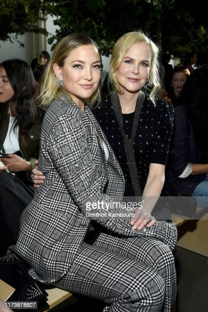 Nicole Kidman and Kate Hudson attend the Michael Kors Collection Spring 2020 Runway Show on September 11, 2019 in the Brooklyn borough of New York...