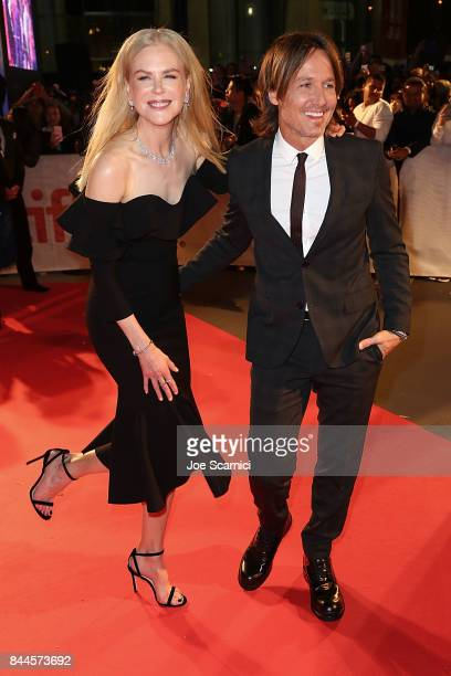 Nicole Kidman and Keith Urban arrive at the 2017 Toronto International Film Festival 'The Upside' Premiere at Roy Thomson Hall on September 8 2017 in...