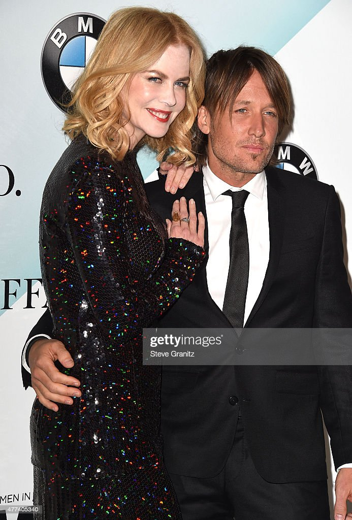 Nicole Kidman and Keith Urban arrives at the Women In Film 2015 Crystal + Lucy Awards at the Hyatt Regency Century Plaza on June 16, 2015 in Los Angeles, California.