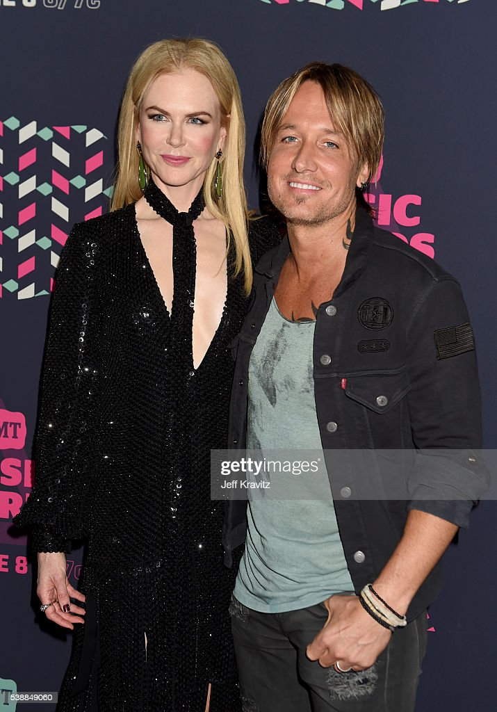 Nicole Kidman And Keith Urban Attend The 2016 Cmt Music