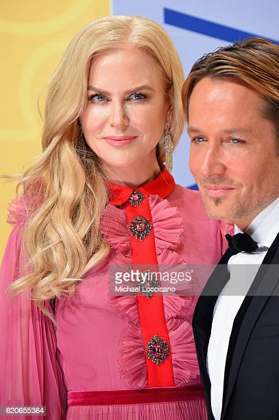 Nicole Kidman and Keith Urban attend the 50th annual CMA Awards at the Bridgestone Arena on November 2 2016 in Nashville Tennessee