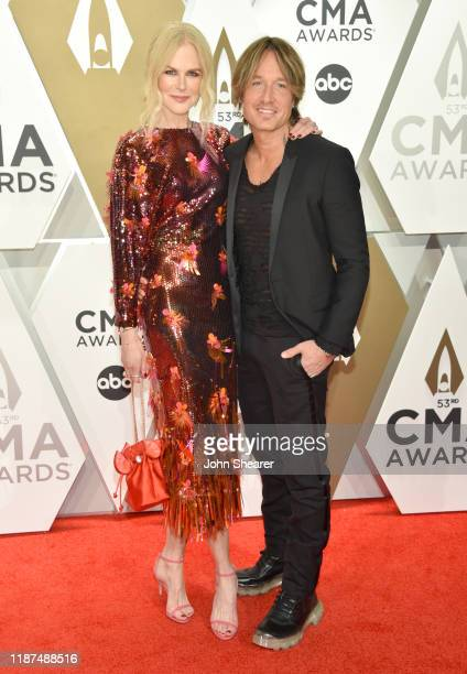 Nicole Kidman and Keith Urban attend the 53rd annual CMA Awards at the Music City Center on November 13, 2019 in Nashville, Tennessee.