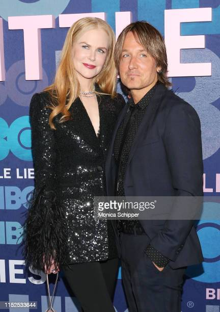 Nicole Kidman and Keith Urban attend the Big Little Lies Season 2 Premiere at Jazz at Lincoln Center on May 29 2019 in New York City