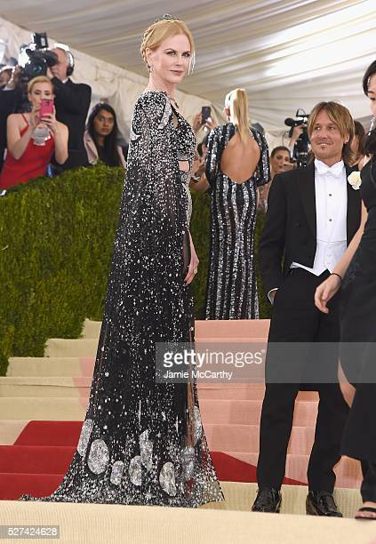 Nicole Kidman and Keith Urban attend the 'Manus x Machina Fashion In An Age Of Technology' Costume Institute Gala at Metropolitan Museum of Art on...
