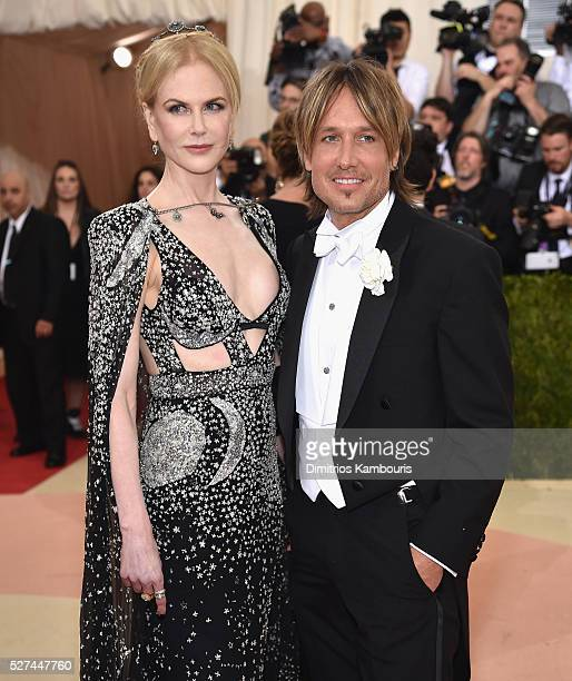 Nicole Kidman and Keith Urban attend the Manus x Machina Fashion In An Age Of Technology Costume Institute Gala at Metropolitan Museum of Art on May...