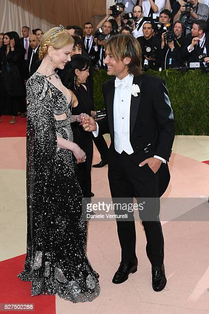 Nicole Kidman and Keith Urban attend the 'Manus x Machina: Fashion In An Age Of Technology' Costume Institute Gala at the Metropolitan Museum on May...