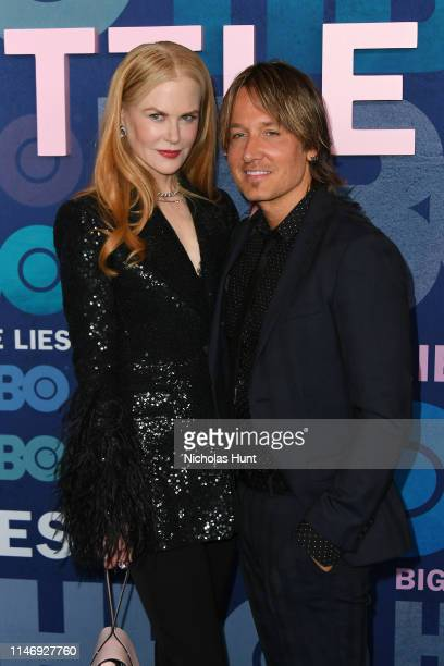 Nicole Kidman and Keith Urban attend the season 2 premiere of Big Little Lies at Jazz at Lincoln Center on May 29 2019 in New York City