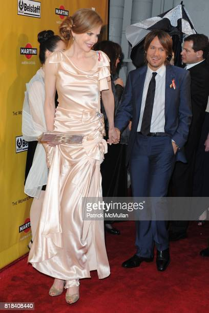 Nicole Kidman and Keith Urban attend THE WEINSTEN COMPANY Golden Globes After Party at Bar 210