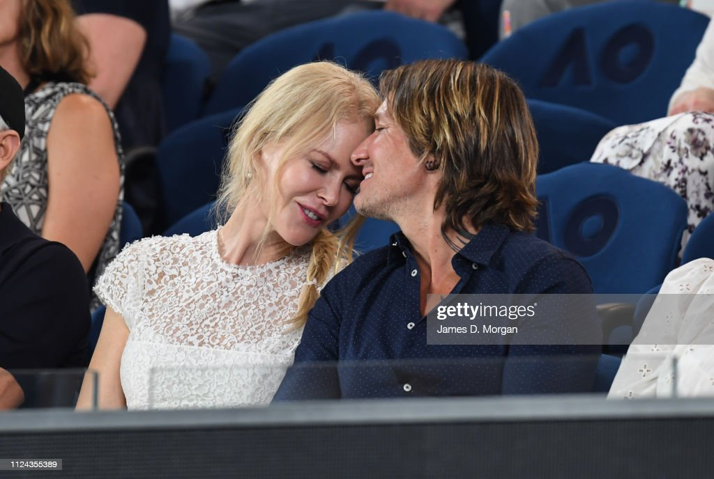 Celebrities At The 2019 Australian Open : News Photo
