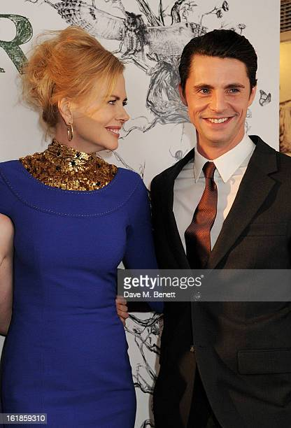Nicole Kidman and Matthew Goode attend a special screening of 'Stoker' at Curzon Soho on February 17 2013 in London England