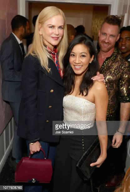 Nicole Kidman and Michelle Kwan attend The 6th Annual 'Gold Meets Golden' Brunch hosted by Nicole Kidman and Nadia Comaneci and presented by CocaCola...