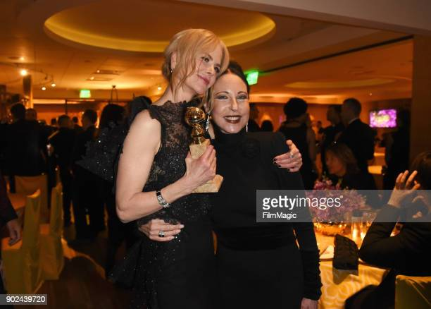 Nicole Kidman and Nancy Lesser attends HBO's Official 2018 Golden Globe Awards After Party on January 7, 2018 in Los Angeles, California.