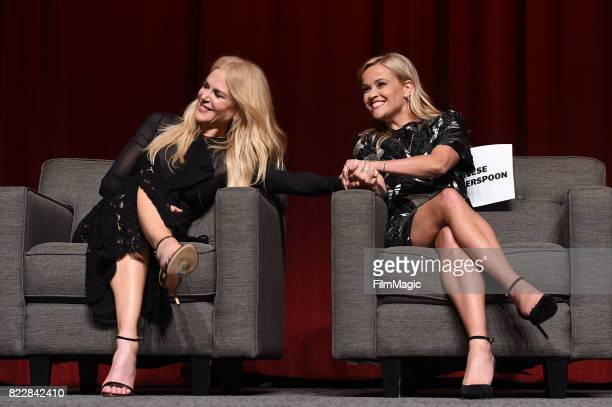Nicole Kidman and Reese Witherspoon attend the HBO 'Big Little Lies' FYC at DGA Theater on July 25 2017 in Los Angeles California