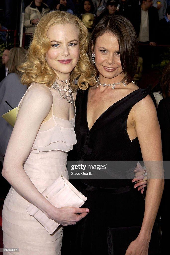 Nicole Kidman and sister Antonia Kidman