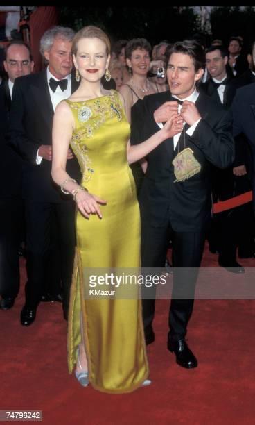 Nicole Kidman and Tom Cruise at the Shrine Auditorium in Los Angeles California