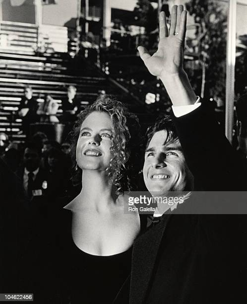 Nicole Kidman and Tom Cruise during 63rd Annual Academy Awards at Shrine Auditorium in Los Angeles California United States