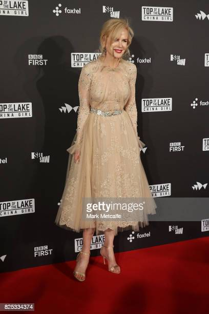 Nicole Kidman arrives ahead of the Top of the Lake: China Girl Australian Premiere at Sydney Opera House on August 1, 2017 in Sydney, Australia.