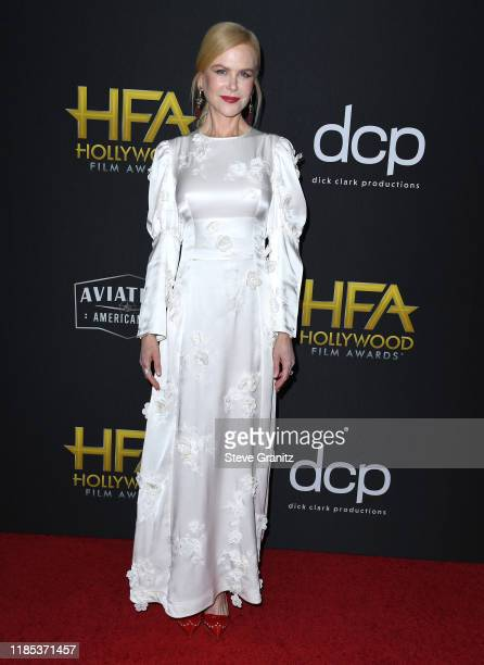 Nicole Kidman arrives at the 23rd Annual Hollywood Film Awards at The Beverly Hilton Hotel on November 03 2019 in Beverly Hills California