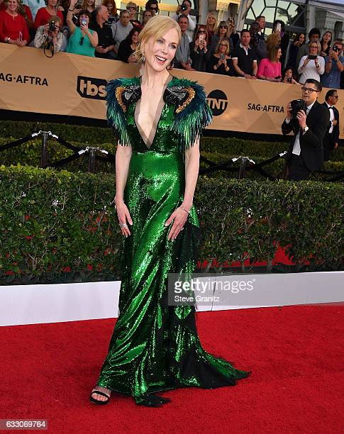 Nicole Kidman arrives at the 23rd Annual Screen Actors Guild Awards at The Shrine Expo Hall on January 29 2017 in Los Angeles California