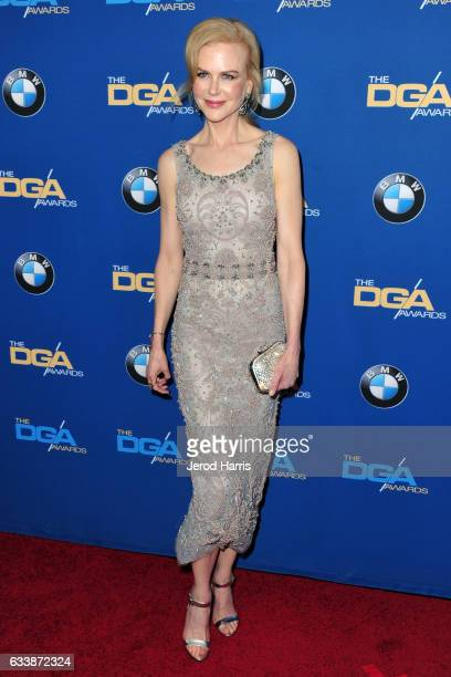 Nicole Kidman arrives at the 69th Annual Directors Guild of America Awards at The Beverly Hilton Hotel on February 4 2017 in Beverly Hills California