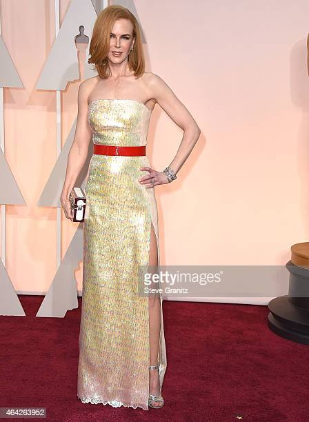 Nicole Kidman arrives at the 87th Annual Academy Awards at Hollywood Highland Center on February 22 2015 in Hollywood California