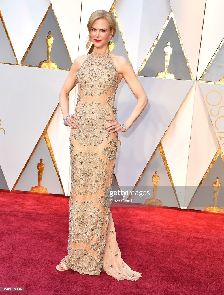 Nicole Kidman arrives at the 89th Annual Academy Awards at Hollywood & Highland Center on February 26, 2017 in Hollywood, California.