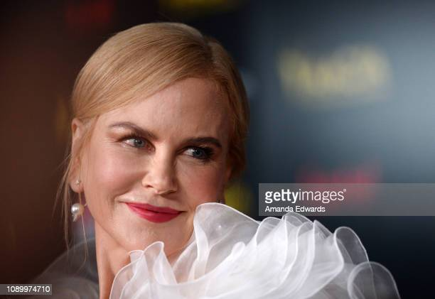 Nicole Kidman arrives at the 8th AACTA International Awards at Mondrian Los Angeles on January 04 2019 in West Hollywood California