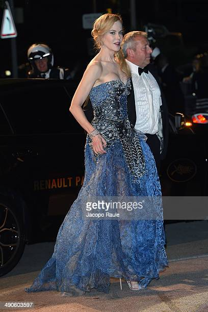 Nicole Kidman arrives at the after party for 'Grace of Monaco' on day 1 of the 67th Annual Cannes Film Festival on May 15 2014 in Cannes France