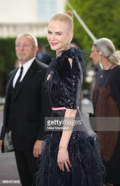 Nicole Kidman arrives at the amfAR Gala Cannes 2017 at Hotel du CapEdenRoc on May 25 2017 in Cap d'Antibes France