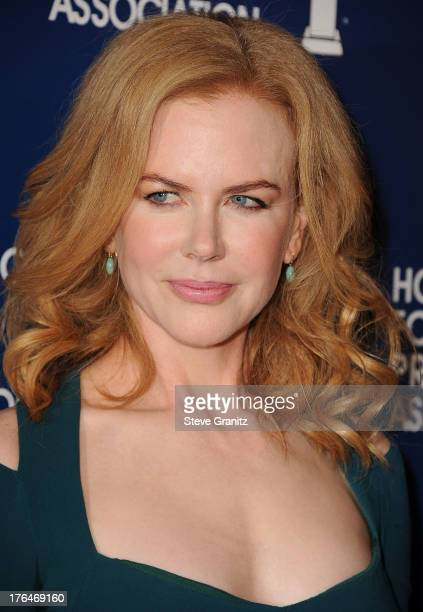 Nicole Kidman arrives at the Hollywood Foreign Press Association's 2013 Installation Luncheon at The Beverly Hilton Hotel on August 13 2013 in...